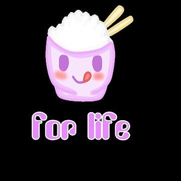 Kawaii Rice for life  by mikistarlight