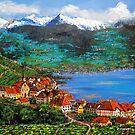 RIVAZ BY THE LAKE- SWITZERLAND by JorgeCaputi