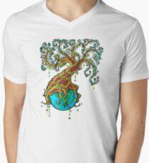Green Valentine  Mens V-Neck T-Shirt
