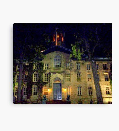 Night  Campus  Princeton  Canvas Print