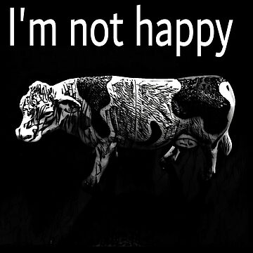 Cow I'm Not Happy  by talalbalwi