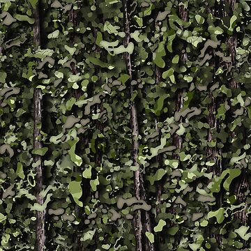 Realistic Light Tropical Rain Forest 3D Camo Pattern by SkylineSquirrel