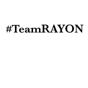#TeamRAYON Tee by ieatmusic
