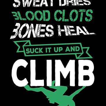 Climb for Life by phskulmshirt
