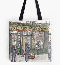 Shakespeare & Co. in Paris Tote Bag