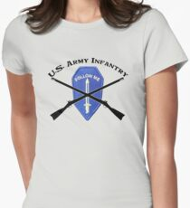 U.S. Infantry - Follow Me Womens Fitted T-Shirt