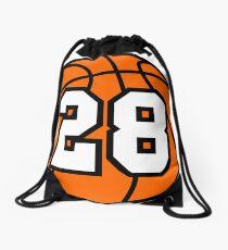 Basketball 28 Drawstring Bag