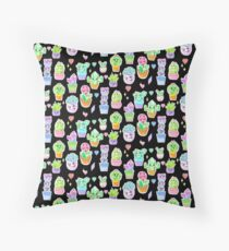 Crystal Cactus Repeating Pattern Floor Pillow