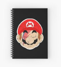 Super Starman Bros mash-up Spiral Notebook
