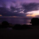 Etty Bay sunrise by Ron  Wilson