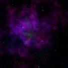 Purple Nebula by Lauren Finn