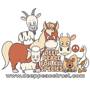 Deep Peace For All Species (design by Kaz Wilbo) by Deeppeacetrust