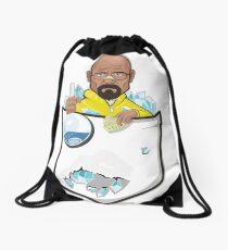 Meth Pocket Drawstring Bag