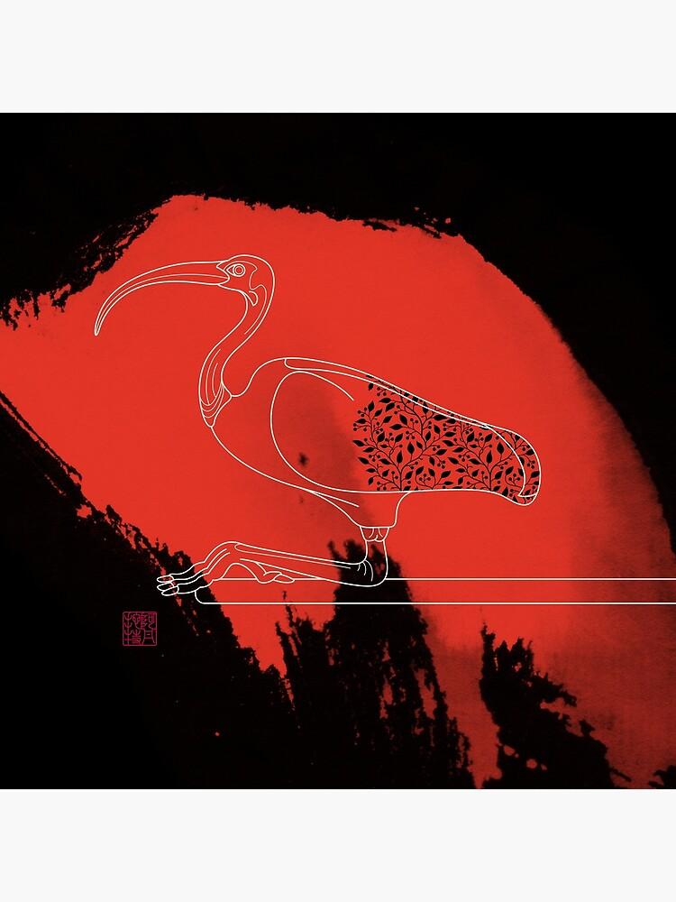 Scarlet Ibis by Thoth-Adan