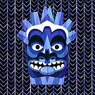 Hawaii Blue Tiki by AntiqueImages