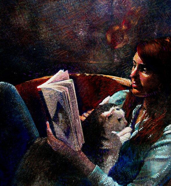 Self Portrait by meganelizabeth