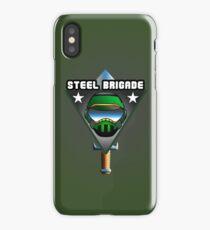 STEEL BRIGADE. iPhone Case
