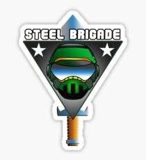 STEEL BRIGADE. Sticker