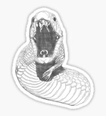 Snakes. Why'd it have to be snakes? Sticker