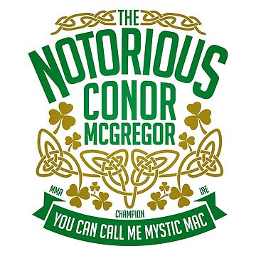 Conor McGregor - Crest by MACTEE