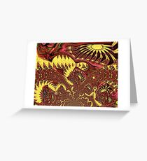 Unrestrained Patchwork 1 Greeting Card