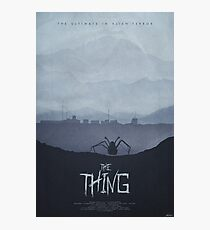 Winter - The Thing (1982) Poster Photographic Print