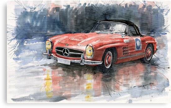 Mercedes Benz 300SL by Yuriy Shevchuk