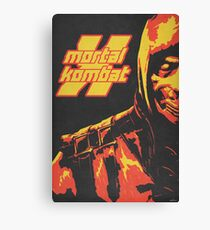 Scorpion - Mortal Kombat X Canvas Print