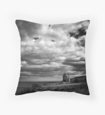 Light of the watch tower Throw Pillow