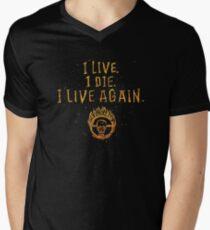 I Live. I Die. I live Again.  Men's V-Neck T-Shirt