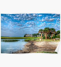 Murrells Inlet from Morse Park Poster