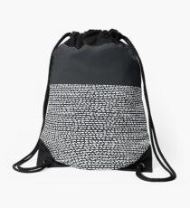 Riverside Black Drawstring Bag