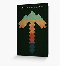 Exploration - Minecraft Greeting Card