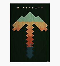 Exploration - Minecraft Photographic Print