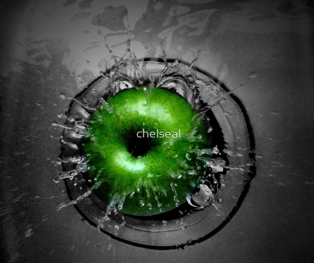 Apple & Splash II by chelseal