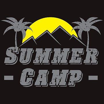 Summer - Camp - by SixtieShirts