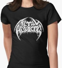 Metal Addicts 2018 Design Women's Fitted T-Shirt