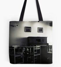 Cafe Piano Tote Bag