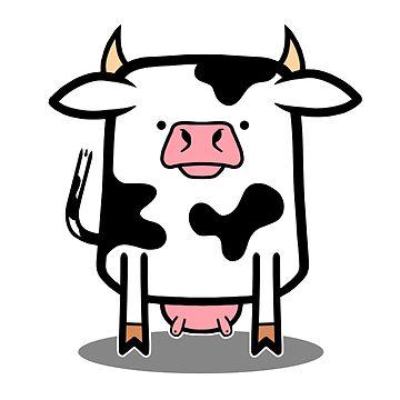 Moo Cow by DocHackenbush