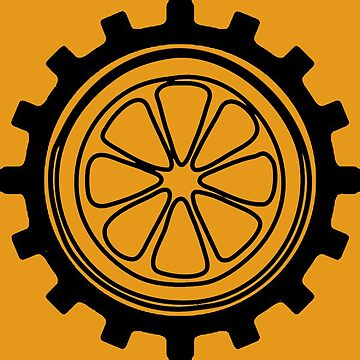 A Cog And An Orange , A clockwork Orange by Donnybanny