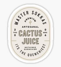 Cactus Juice Sticker