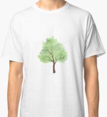 Watercolor Tree Classic T-Shirt