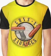 Guns and Sausages Graphic T-Shirt