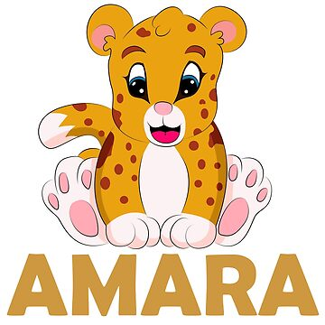 AMARA name design by schnibschnab