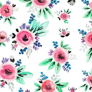 Flower Print by FashionDoodles