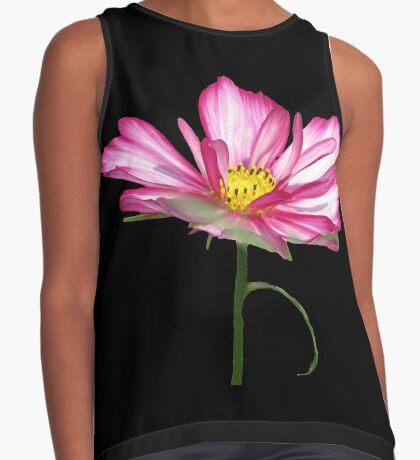 wundervolle Blume, Blüte, pink, pastell, Sommer Kontrast Top