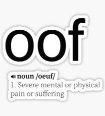 Pegatina OOF