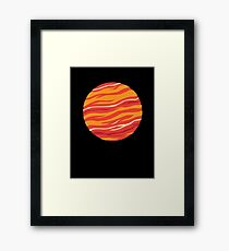 Bound for Planet Bacon… Framed Print
