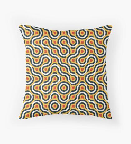 Truchet Tiles 017 Throw Pillow