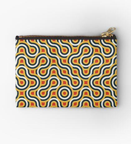 Truchet Tiles 017 Zipper Pouch